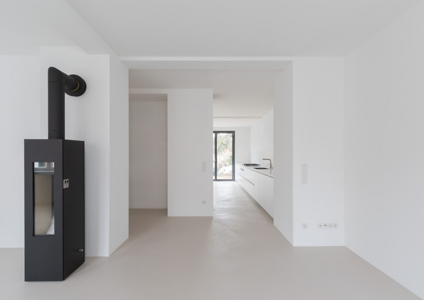 Übergang Wohnzimmer zur Küche