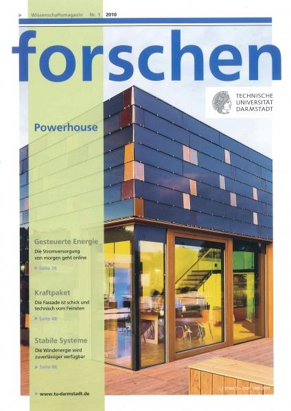 """Cover """"forschen 01/2010"""""""