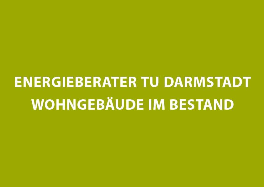 Energieberater TU Darmstadt