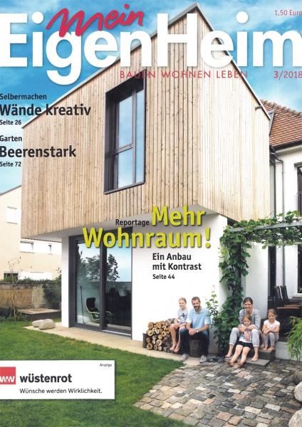 """Den Cover von """"Mein Eigenheim"""" ziert unser Anbau"""