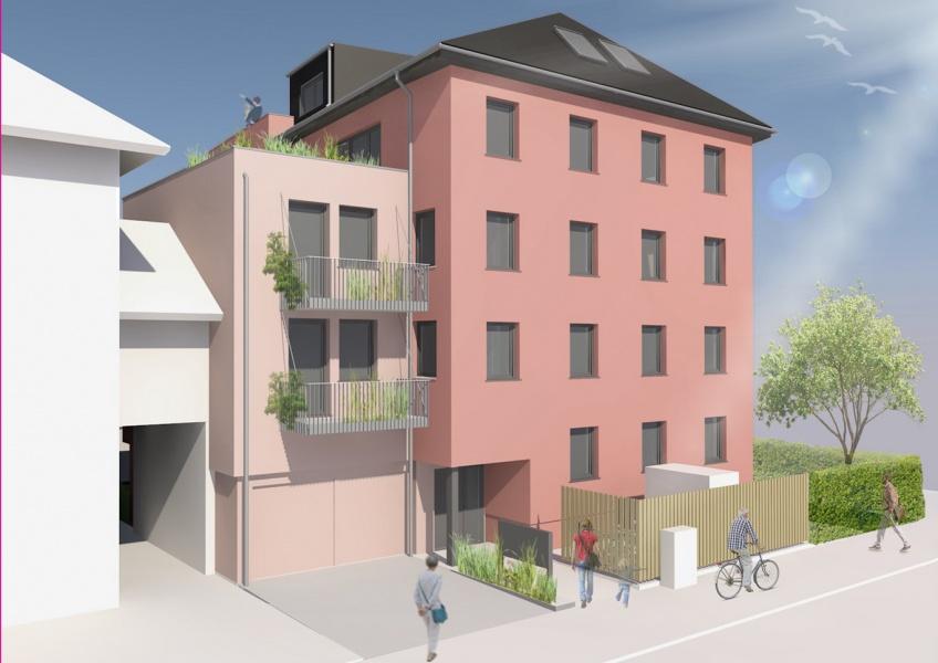 Aufstockung und energetische Sanierung Mehrfamilienhaus