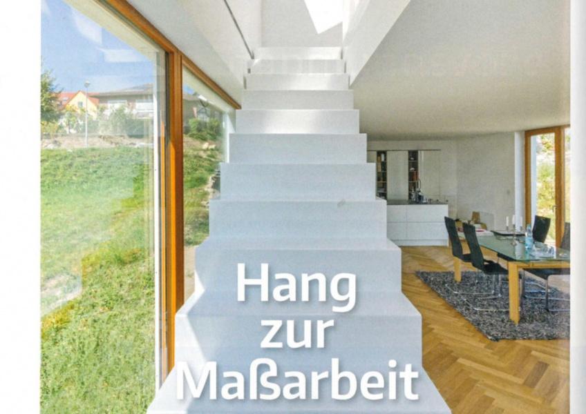 """Artikel in """"Das Einfamilienhaus"""""""