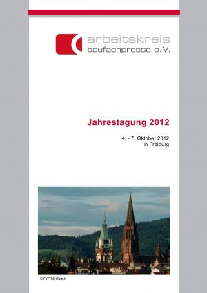 Flyer Jahrestagung ak-baufachpresse 2012